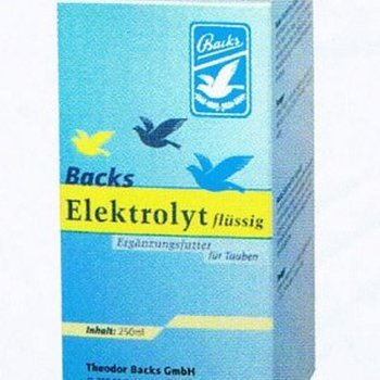 Backs électrolytes liquides 250ML